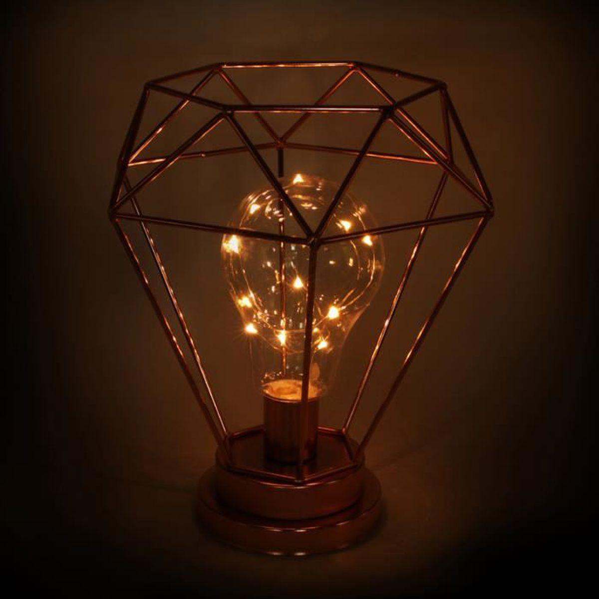 Lumineuse Fil Achat Lampe Vente Cuivrée Décoration tCohBsrxQd