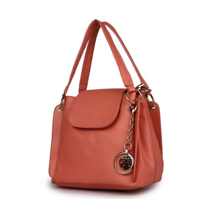 Womens Marks Hand Held With Sling Bag Peach (flap) Combo KKYLJ