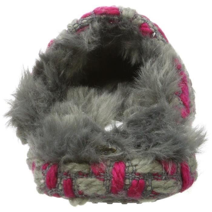 40 Knitty Femmes 3tix2d Mule Taille Ouverte Esprit Pantoufles qZB0A70x