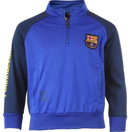 Survêtement training fit BARCA - Collection officielle Fc Barcelone Bleu  Bleu - Achat   Vente survêtement - Cdiscount 634dc6b4438