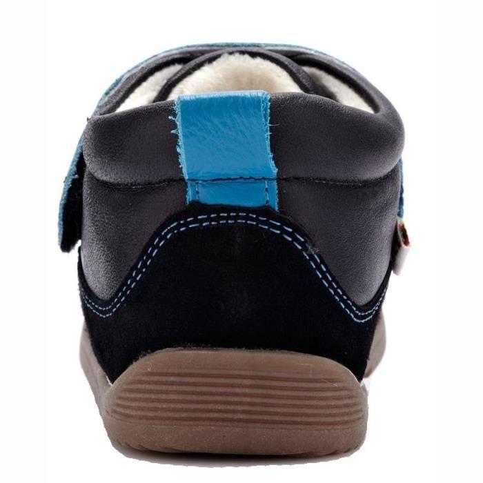 YXY - Chaussures semelle souple   Baskets bleu et noir