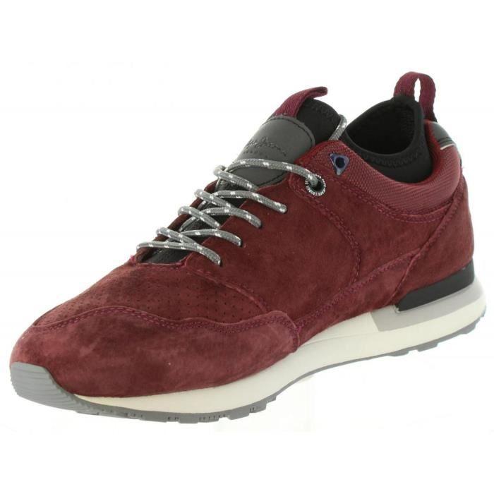 Chaussures de sport pour Homme PEPE JEANS PMS30383 BOSTON 298 BORDEAU b0kTgfNT