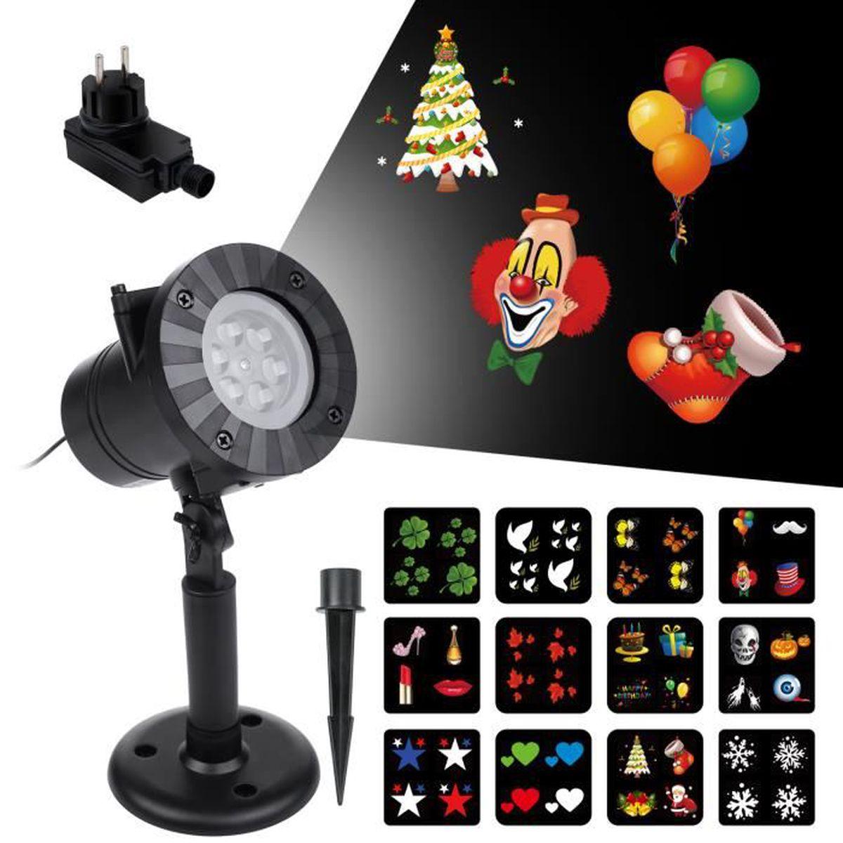 12pcs Achat Tendance Lampe D'intérieur Et Led Dehors Projecteur hrdsCtQ