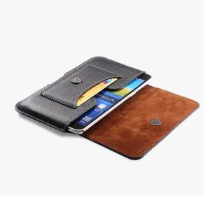 6bd2458a109 HOUSSE - ÉTUI Etui ceinture Noir compatible Smartphone 15.5 x 8.