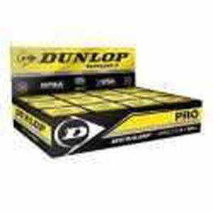 BALLE DE SQUASH Boite 12 Balles de Squash Dunlop 2 points jaune