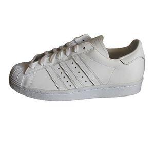 adidas superstars blanche