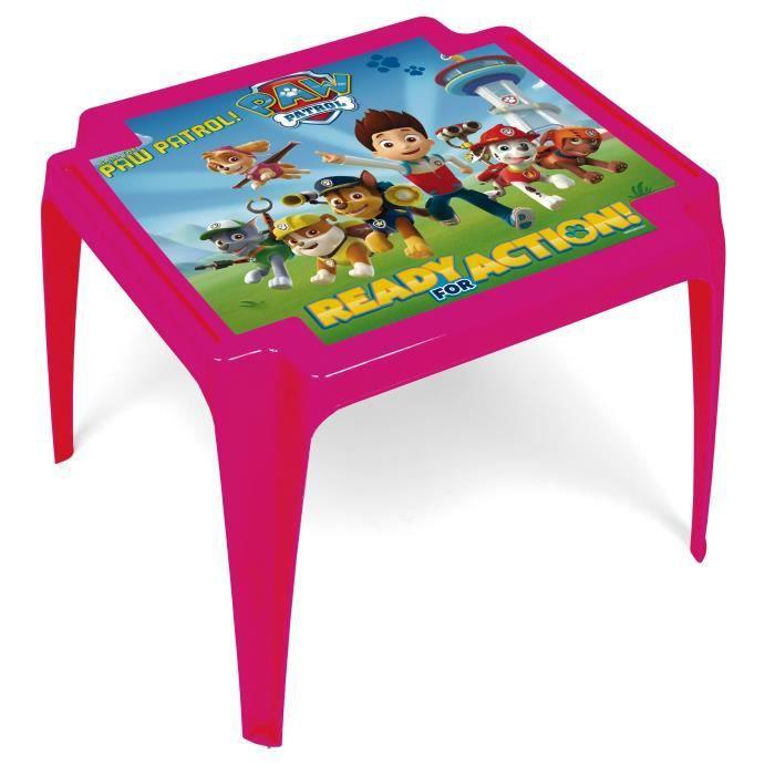 PAT'PATROUILLE Table Monobloc