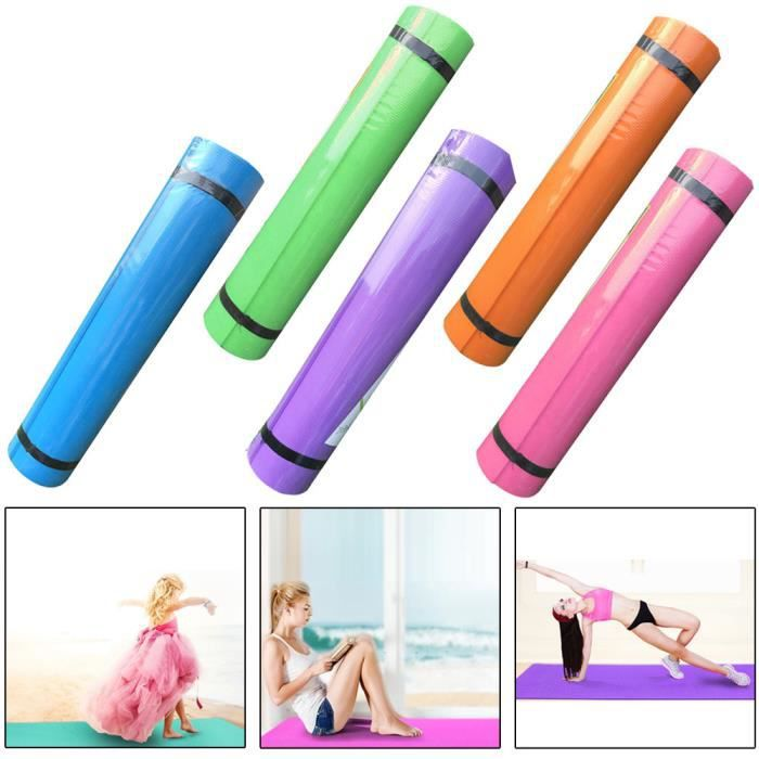 8mm Eva épais Yoga Durable Tapis Anti Dérapant Exercice Fitness Pad