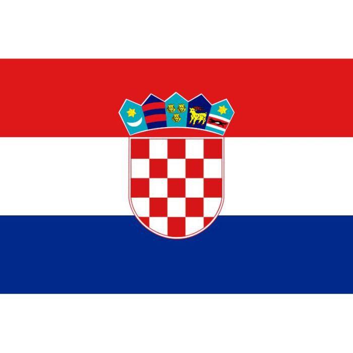 Drapeau Croatie Croate Prix Pas Cher Cdiscount