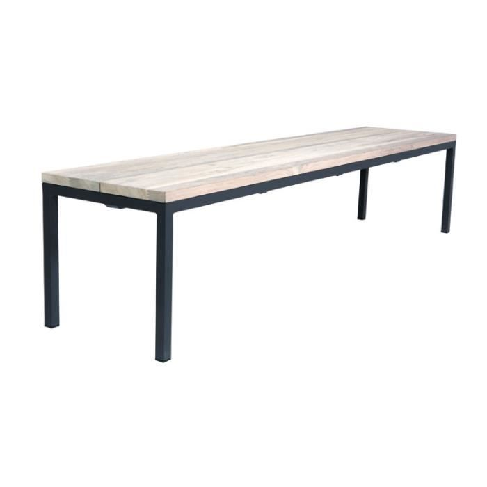 Table teck exterieur simple table haute exterieur table for Table teck exterieur