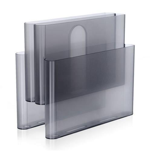 Kartell porte journaux gris achat vente porte revue kartell porte journaux gris black - Porte revue kartell ...