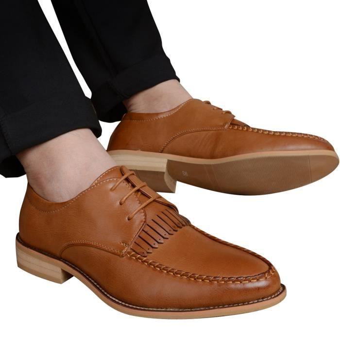 Escarpin Homme Chaussure de Soulier Style Britannique Casual Respirant Printemps HEE GRAND