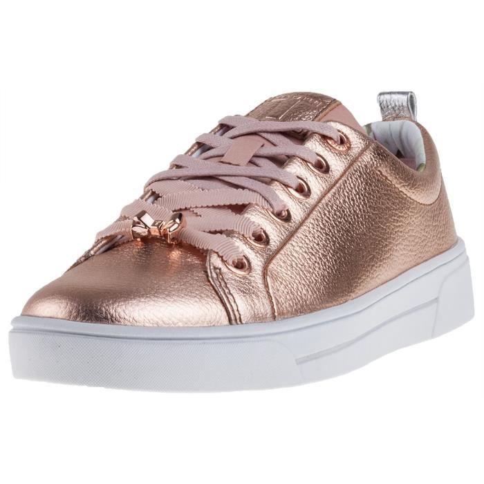 Chaussures colorées conduit feux clignotant usb charge modèles féminins haut-dessus baskets à lacets 3IBzNg