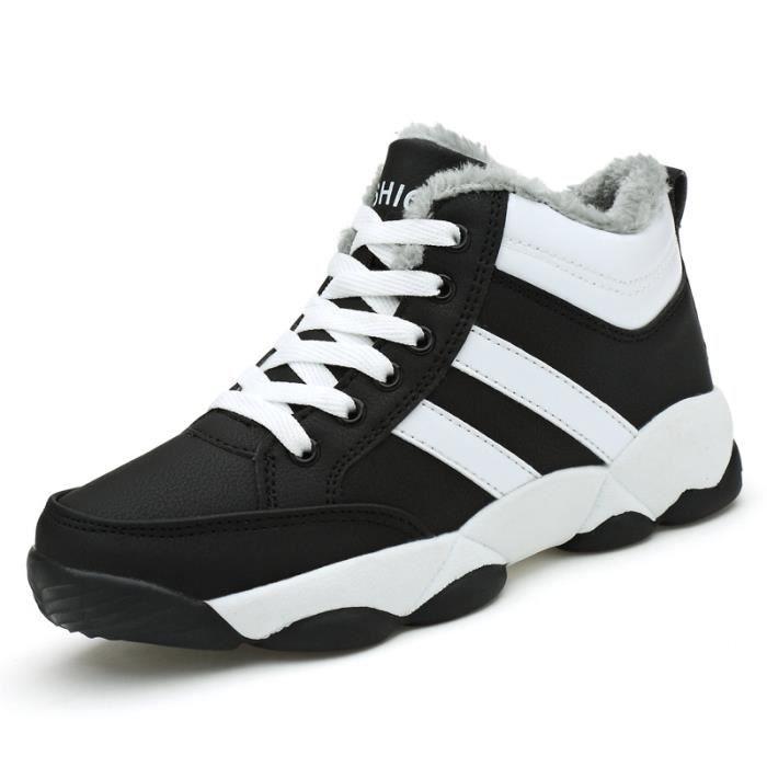 Femme Chaussures Basket Loisirs Chaussures de sport Bottes courtes Coton RSwe5S7