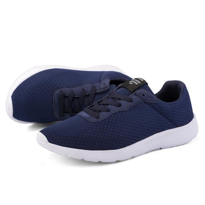 Homme Baskets Chaussures de Course Sneakers Outdoor Running Sports Fitness Gym Shoes