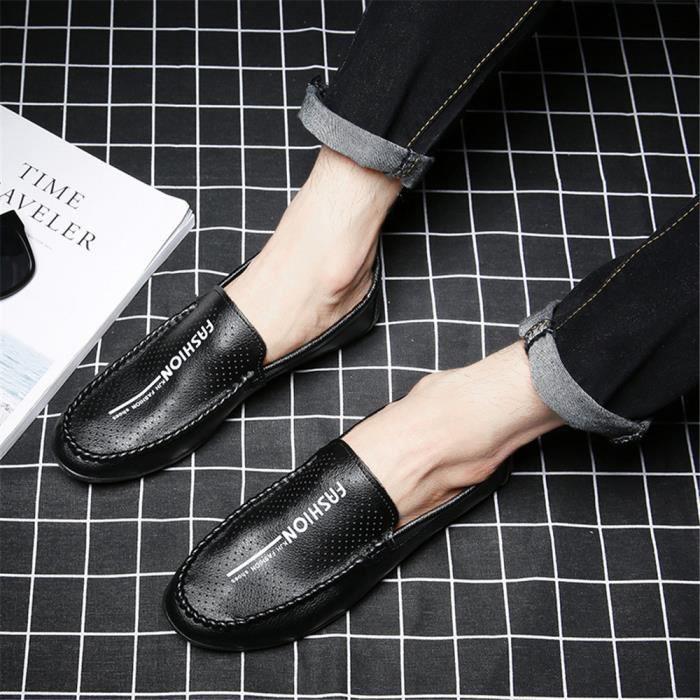 Durable L'usure Plus Élégant Taille Léger Homme En À Cuir Poids Résistantes Chaussures qBF6t7