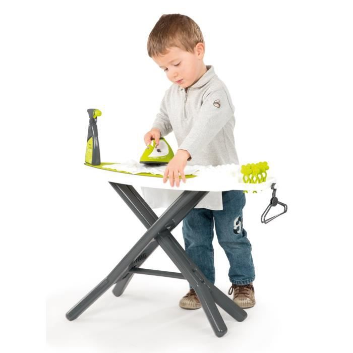 smoby table repasser repass net t fal achat vente maison m nage cdiscount. Black Bedroom Furniture Sets. Home Design Ideas