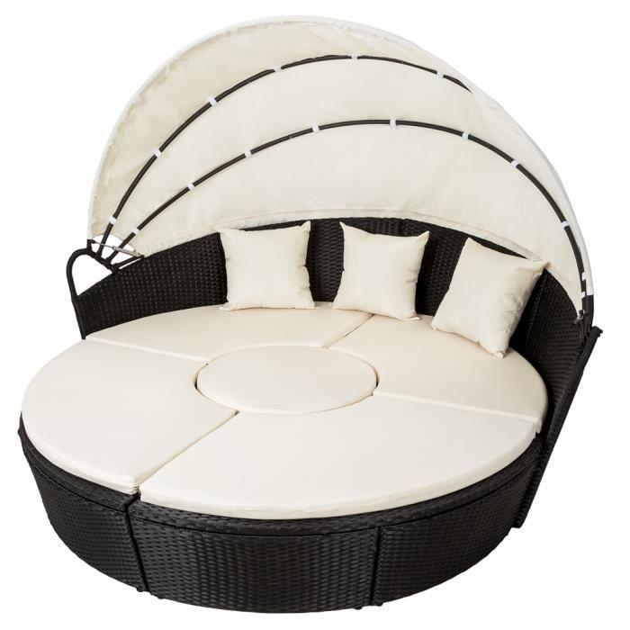 Salon de Jardin, Chaise longue Transat, Bain de soleil Coquille ...