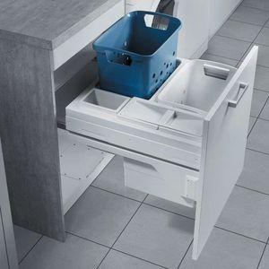 meuble salle de bains avec bac a linge achat vente pas. Black Bedroom Furniture Sets. Home Design Ideas