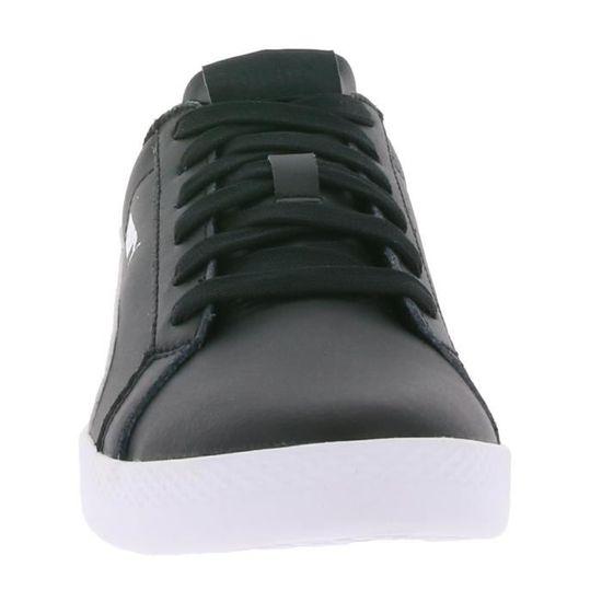 PUMA Smash Wns L Baskets en cuir véritable pour femme Noir Noir 360780 01 Noir Noir femme - Achat / Vente basket 5f9009