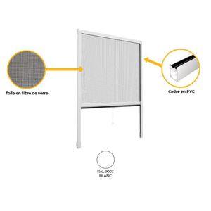 moustiquaire enroulable porte achat vente moustiquaire enroulable porte pas cher cdiscount. Black Bedroom Furniture Sets. Home Design Ideas