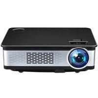 Excelvan Z720 Projecteur Multimédia 1280 * 768 Résolution native 3300 Lumens 1080P HDMI VGA USB AV pour Home Cinema Outdoor Movie