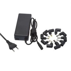 APM Chargeur Notebook 90W Avec 1 USB 1A + 10 Tips