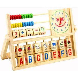 JEU D'APPRENTISSAGE 3 en 1 Jeux éducatifs pour Enfant Bébé Horloge Alp