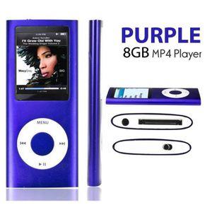 LECTEUR MP4 Lecteur MP3 MP4 Player 8Go Vidéo Radio Musique Jeu