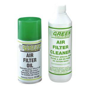 HUILE MOTEUR Kit Bombe d huile pour filtre GREEN et son nettoya