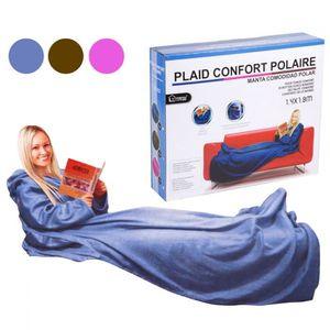 plaid polaire avec manches achat vente plaid polaire. Black Bedroom Furniture Sets. Home Design Ideas