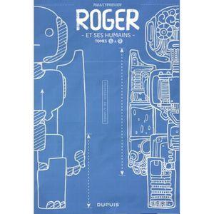 AFFICHE - POSTER Roger et ses humains : Coffret en 2 volumes : Tome