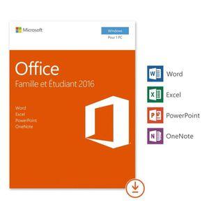 BUREAUTIQUE À TÉLÉCHARGER Microsoft Office Famille et Etudiant à télécharger