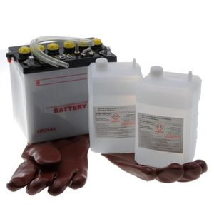 PIÈCE OUTIL DE JARDIN Batterie 12N24-4 A pour tracteur tondeuse autoport