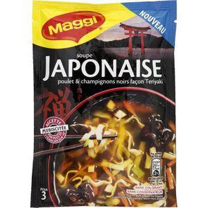 SOUPE Maggi Soupe japonaise déshydratée 50g