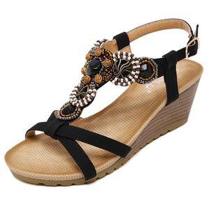 MULE Mules compensées Chaussures Femme