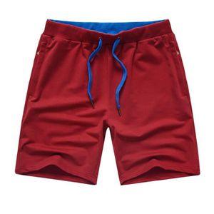 SHORT DE SPORT Short Homme coton Casual Short de sport uni Short