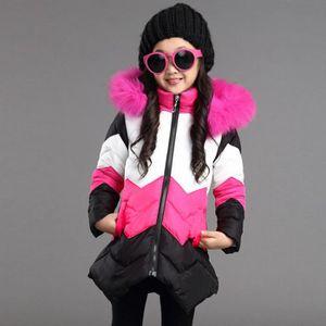 e1fe44bc23b27 MANTEAU - CABAN Filles Kid hiver Outwear moyen Manteau Veste chaud ...