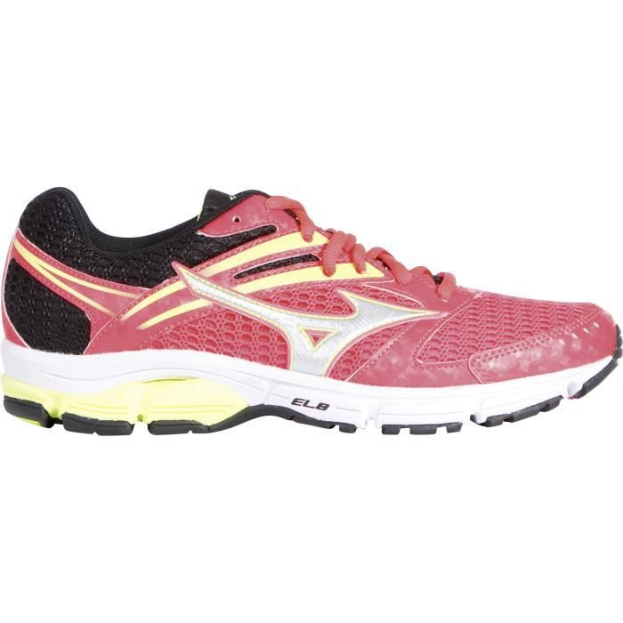 Chaussures Running pour femme Wave Valiant - Rose / BlancCHAUSSURES DE RUNNING - CHAUSSURES D'ATHLETISME
