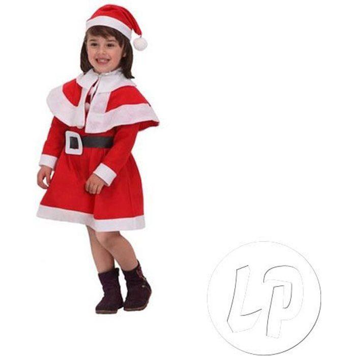 11d16befaf943 Déguisement de noël pour fille en feutrine taille 7-9 ans - Achat ...