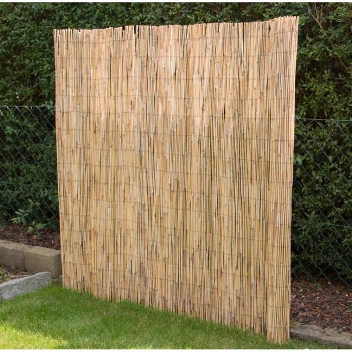 cl ture en roseau canisse 500x150cm s paration brise vue mdj06007 achat vente bordure. Black Bedroom Furniture Sets. Home Design Ideas