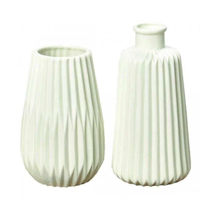 vase en porcelaine blanche achat vente pas cher. Black Bedroom Furniture Sets. Home Design Ideas