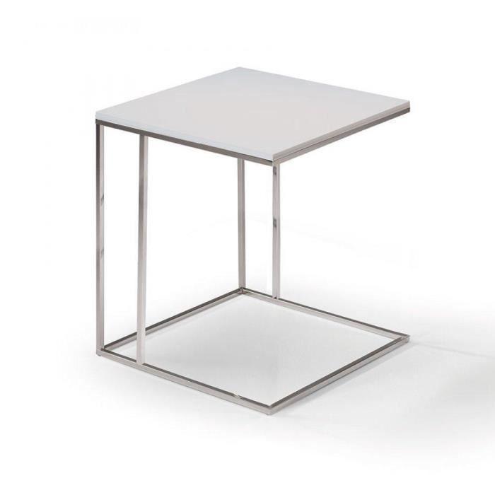 bout de canape gris achat vente bout de canape gris pas cher cdiscount. Black Bedroom Furniture Sets. Home Design Ideas