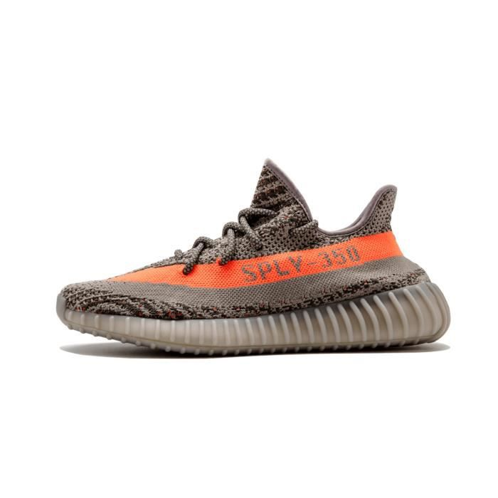 online store c93a2 61078 BASKET Adidas Yeezy Boost 350 V2 Stegry Beluga Solred