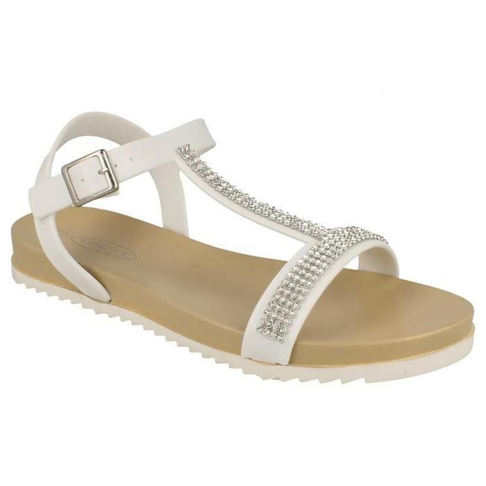 SANDALE - NU-PIEDS Spot On - Sandales à diamants - Femme