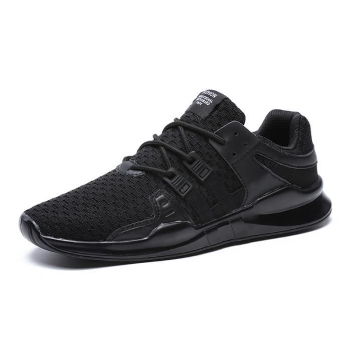 chaussures Mode Nouvelles casual hommes tissé Baskets volant 11qIa