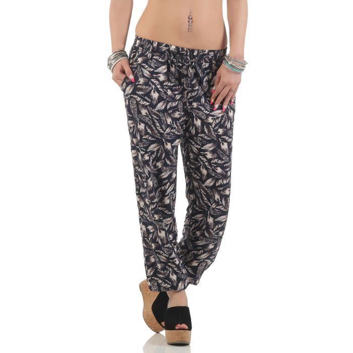 Malito sarouel imprimé plumes Pantalon de jogging 2105-52 Femmes 1IFC1Y  Taille-40 5fba89557f9