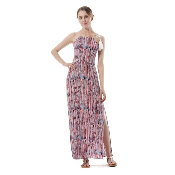Robes Femme Sex Confortable Slim À La Mode Impression