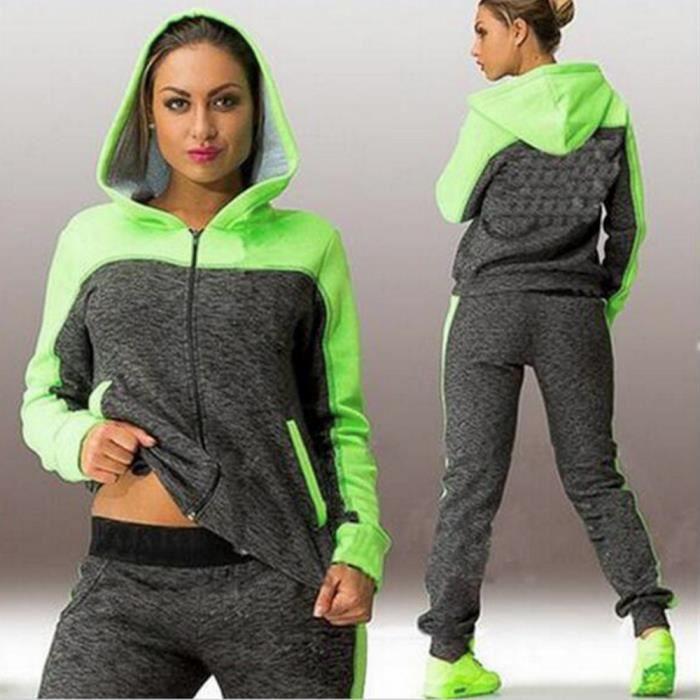 Survetement femme ensemble jogging sport - Achat   Vente pas cher 61f1cdc169b6
