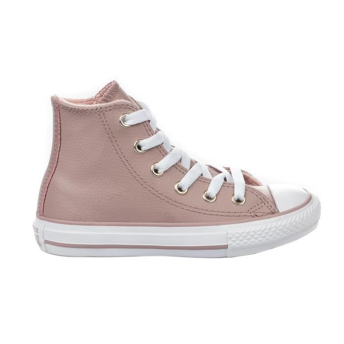 97bfbd03e35a6 Baskets fille - CONVERSE - Rose poudre - 27 Rose Rose - Achat ...